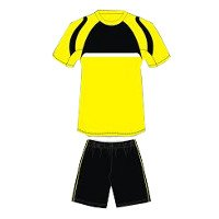Custom Made Pluto Football Kit