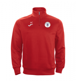 Roundshaw Faraon 1/4 Zip Red