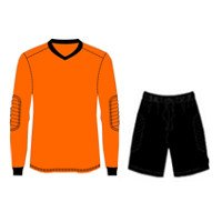 Custom Made Zenit Goalkeeper Shirt with Short